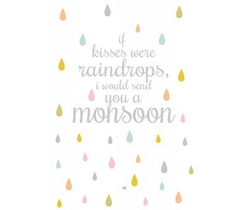 A4 poster monsoon