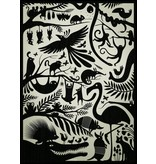 Omm design poster schaduw jungle