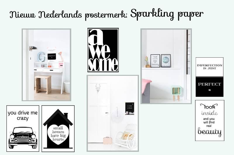 Nieuw Nederlands merk Sparling paper