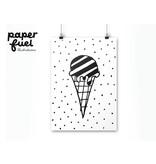 Paper fuel A4 Ice cream