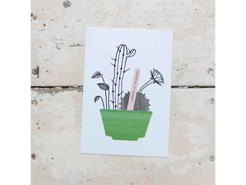 Audrey Jeanne kaart blossom