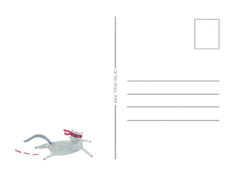 Teken-ing kaart hello