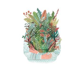 kaart plant love