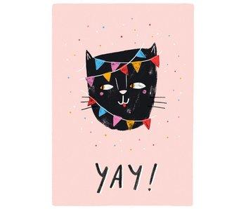 kaart yay cat