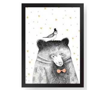 A4 poster bear