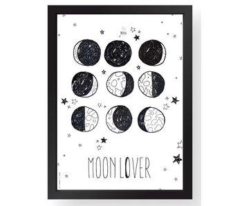 A4 poster moonlover