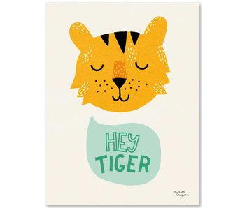A4 poster Hey Tiger