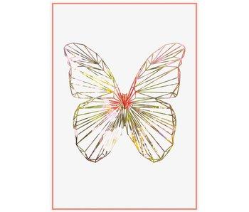 kaart butterfly