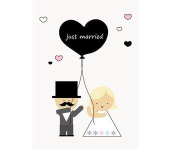 kaart just married
