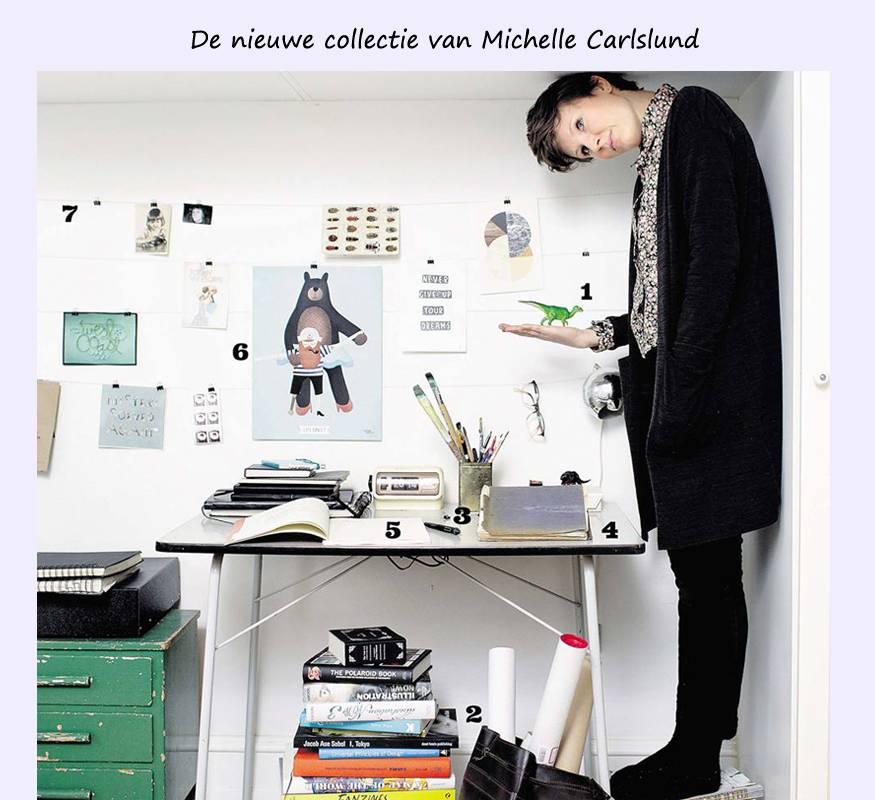 Nieuwe collectie Michelle Carlslund