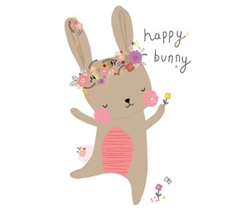 kaart happy bunny