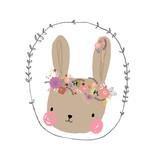 Petite Louise kaart bunny