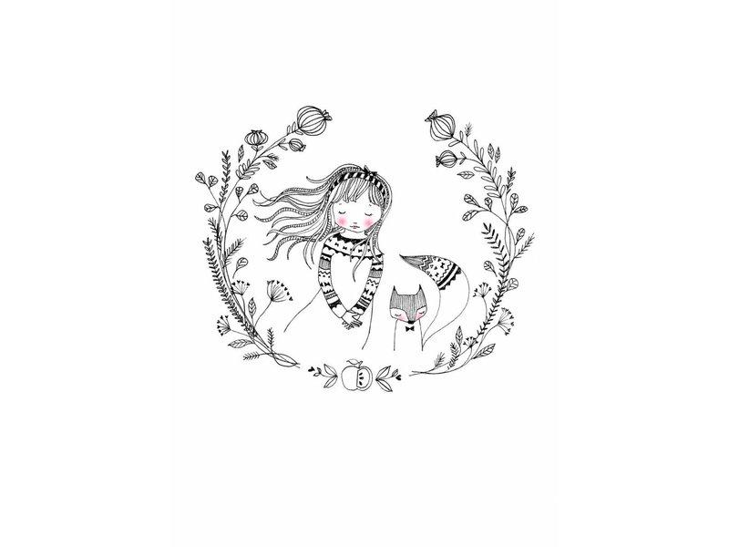 Petite Louise kaart dream girl