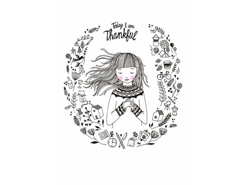 Petite Louise kaart thankful