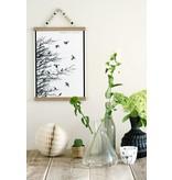 Sparkling paper A2 zwart-witte posterdisplay