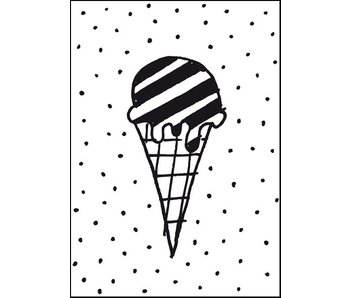 A4 poster Ice cream