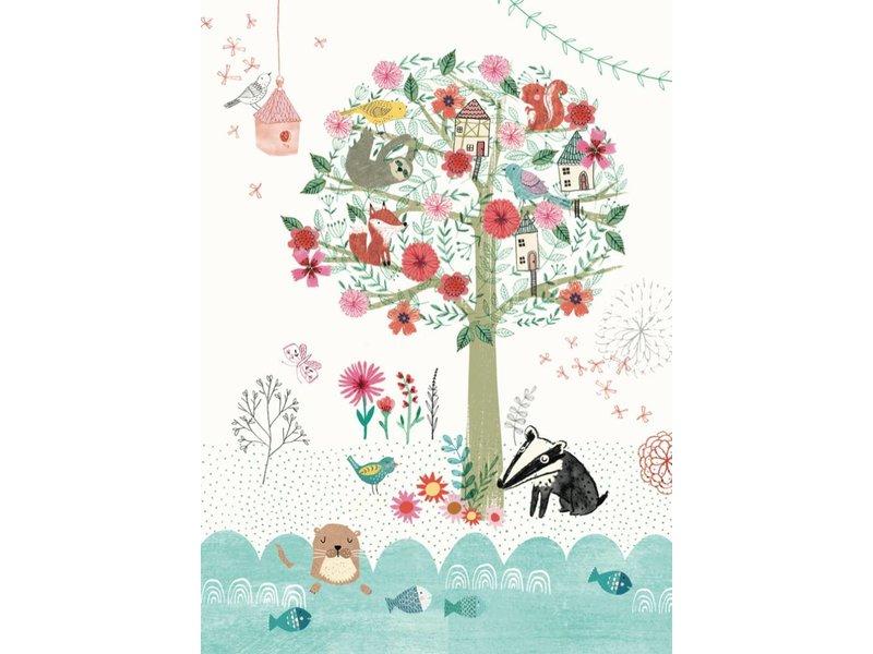 Petite Louise kaart Magical tree