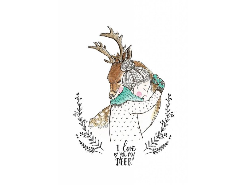 Petite Louise kaart love you my dear
