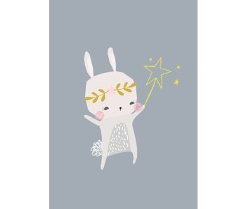 kaart magical bunny