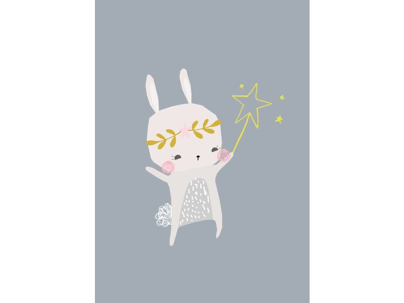 Petite Louise kaart magical bunny
