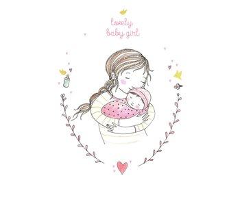 kaart Lovely Baby girl