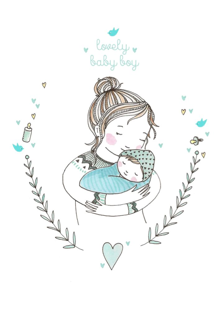 Petite Louise Kaart Lovely Baby Boy Petite louise kopen