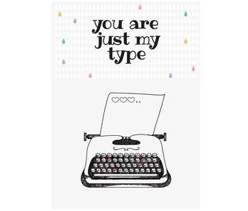 kaart love type