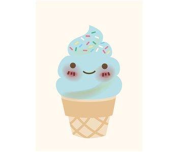 kaart ice cream
