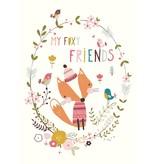 Petite Louise kaart my foxy friend