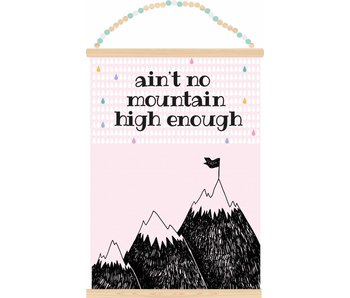 poster ain't no mountain