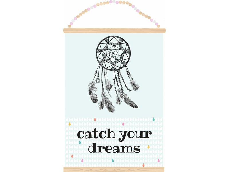 Sparkling paper postertch your dreams