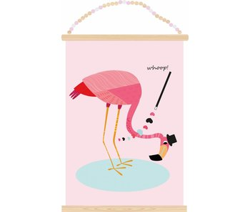 poster flamingo whoop
