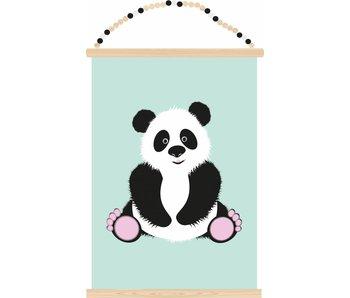 poster panda friend