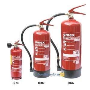 Brandblusser klasse a.b.c. 2 kg