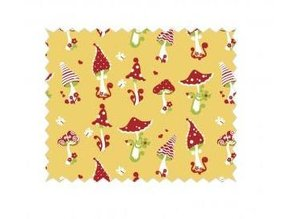 Tante Ema Jean: Lucky, 50x65cm, honey yellow