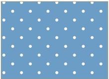 Tante Ema Bomuld stof: Glücksbringer 50x65cm, 100% bomuld, himmelblå