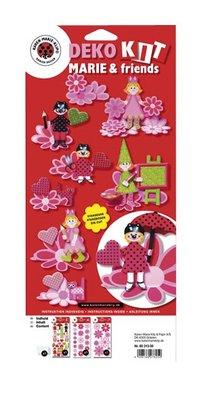 Kinder Bastelsets / Kids Craft Kits Craft Kit Dekoration Sæt: Marie & venner