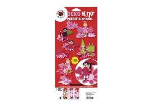 Kinder Bastelsets / Kids Craft Kits Bastelset Deko-Set: Marie & friends