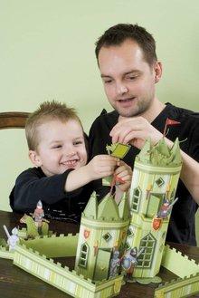 Kinder Bastelsets / Kids Craft Kits Bambini Craft Kit: Castello del cavaliere