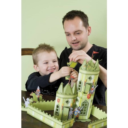 Kinder Bastelsets / Kids Craft Kits Kids Craft Kit: ridder borg