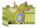 Kinder Bastelsets / Kids Craft Kits Kinder Bastelset: 6 Tischkarten, Ritter und Leuchtturm