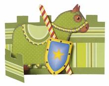 Kinder Bastelsets / Kids Craft Kits Bambini set mestiere: 6 segnaposti, cavalieri e faro