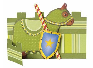 Kinder Bastelsets / Kids Craft Kits Niños set nave: 6 tarjetas del lugar, los caballeros y el faro
