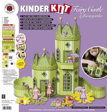 Kinder Bastelsets / Kids Craft Kits Bambini mestiere set: Fairy Castle con giardino fiorito