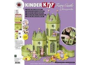 Kinder Bastelsets / Kids Craft Kits Kids craft set: Fairy Castle with Blumengartenopy
