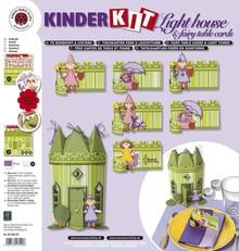 Kinder Bastelsets / Kids Craft Kits Bambini set mestiere: 6 segnaposti, fate e faro