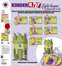 Kinder Bastelsets / Kids Craft Kits Kids craft set: 6 place cards, fairies and lighthouse