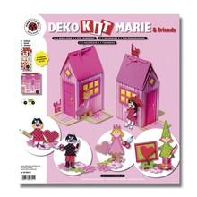 Kinder Bastelsets / Kids Craft Kits Bambini Craft Kit: scatola di casa di Marie per 2 pezzi