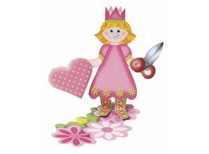 Kinder Bastelsets / Kids Craft Kits Kids Craft Kit: caja de la casa de Marie de 2 piezas