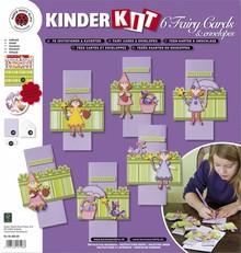 Kinder Bastelsets / Kids Craft Kits Bambini Bastelset 6 carte e buste: Fairies